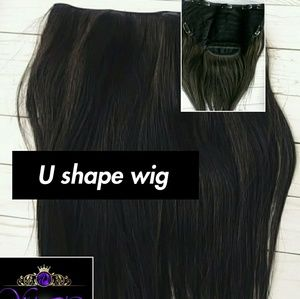 Remy Virgen Hair U shape wig
